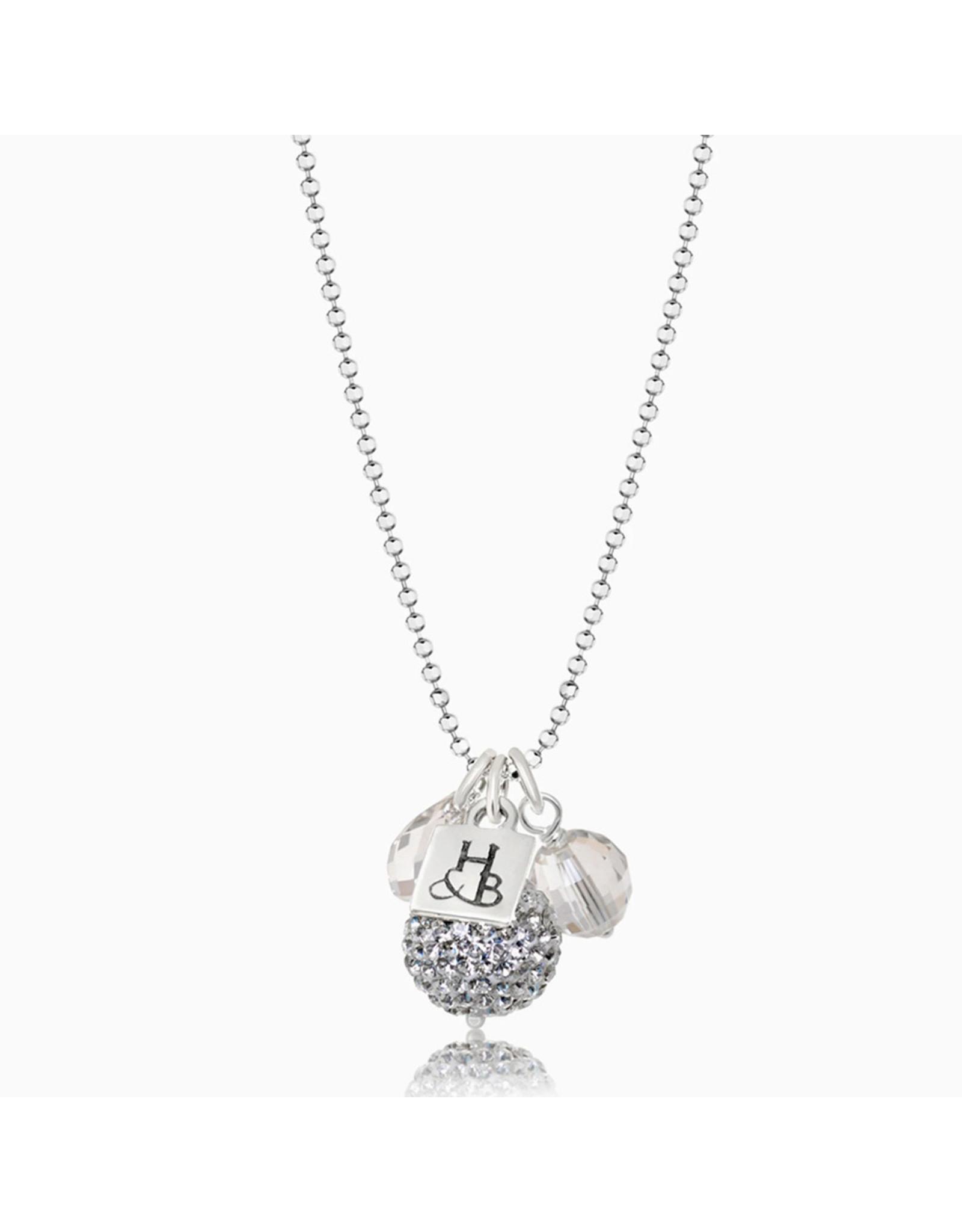Hillberg & Berk H&B - Sparkle Ball Cluster Necklace