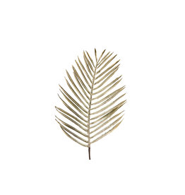 Dyk Natural Collections Leaf branch artificial -gold 100cm
