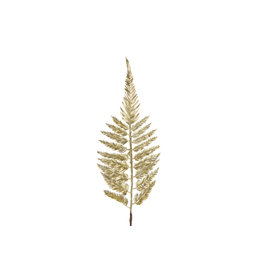 Dyk Natural Collections Leaf branch - gold artificial 100cm
