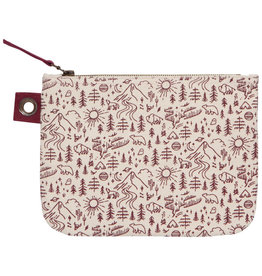 Stay Wild Zipper Pouch