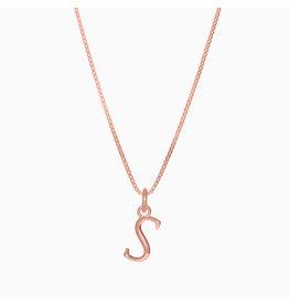 Hillberg & Berk H&B - Letter Necklace S