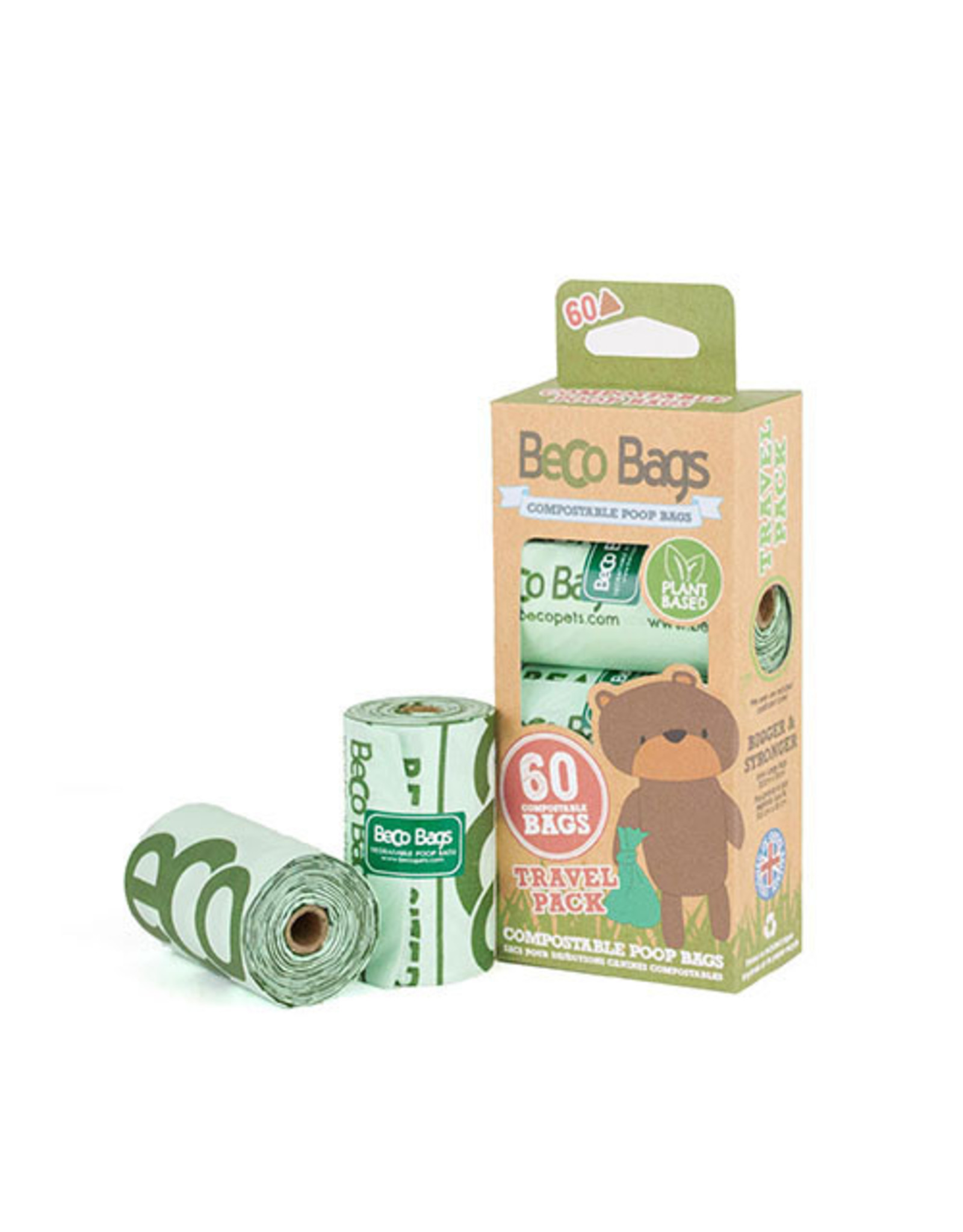 Beco Bags - Compostable 4pk - 60 bags