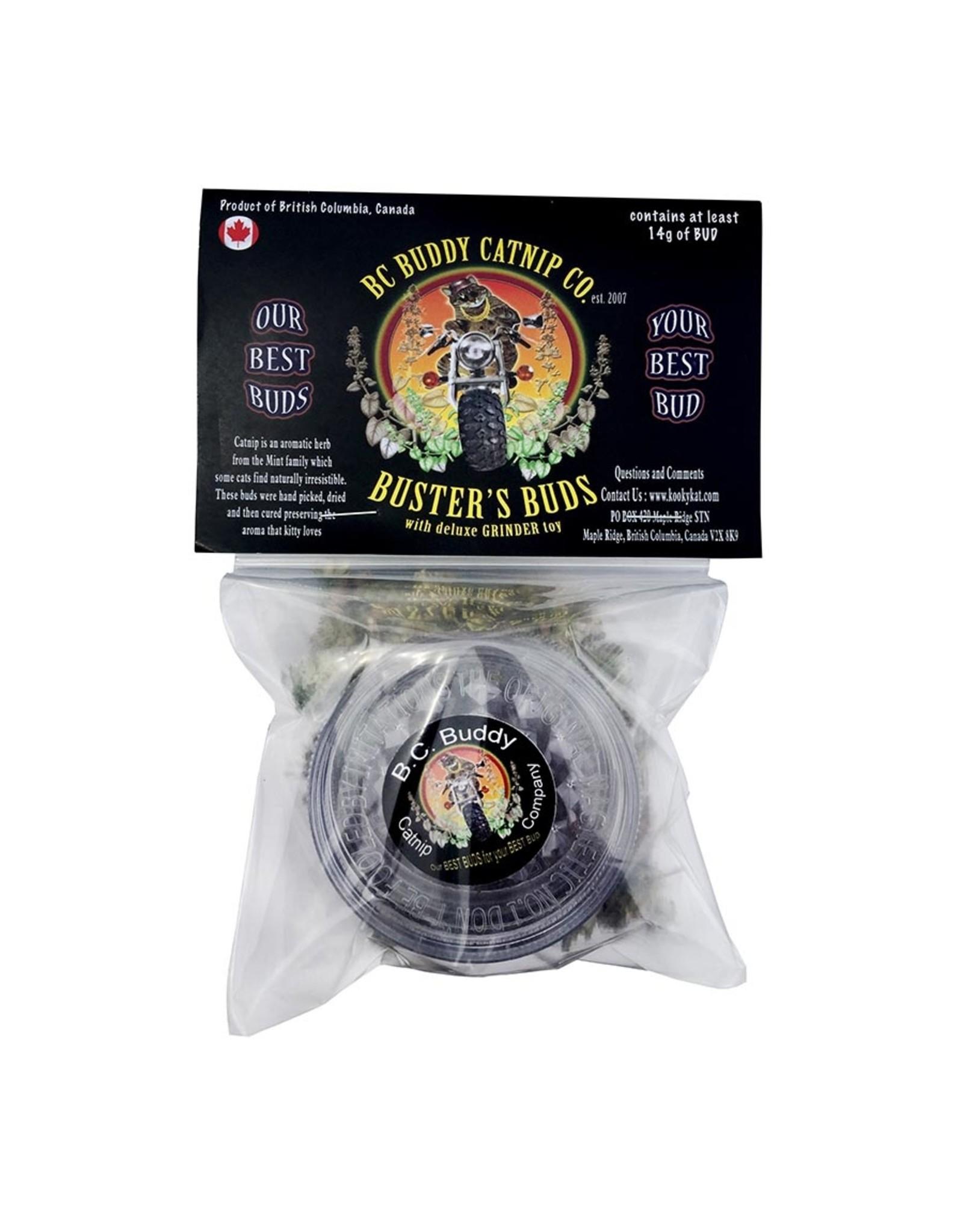 B.C. Buddy Catnip Busters Buds & Grinder