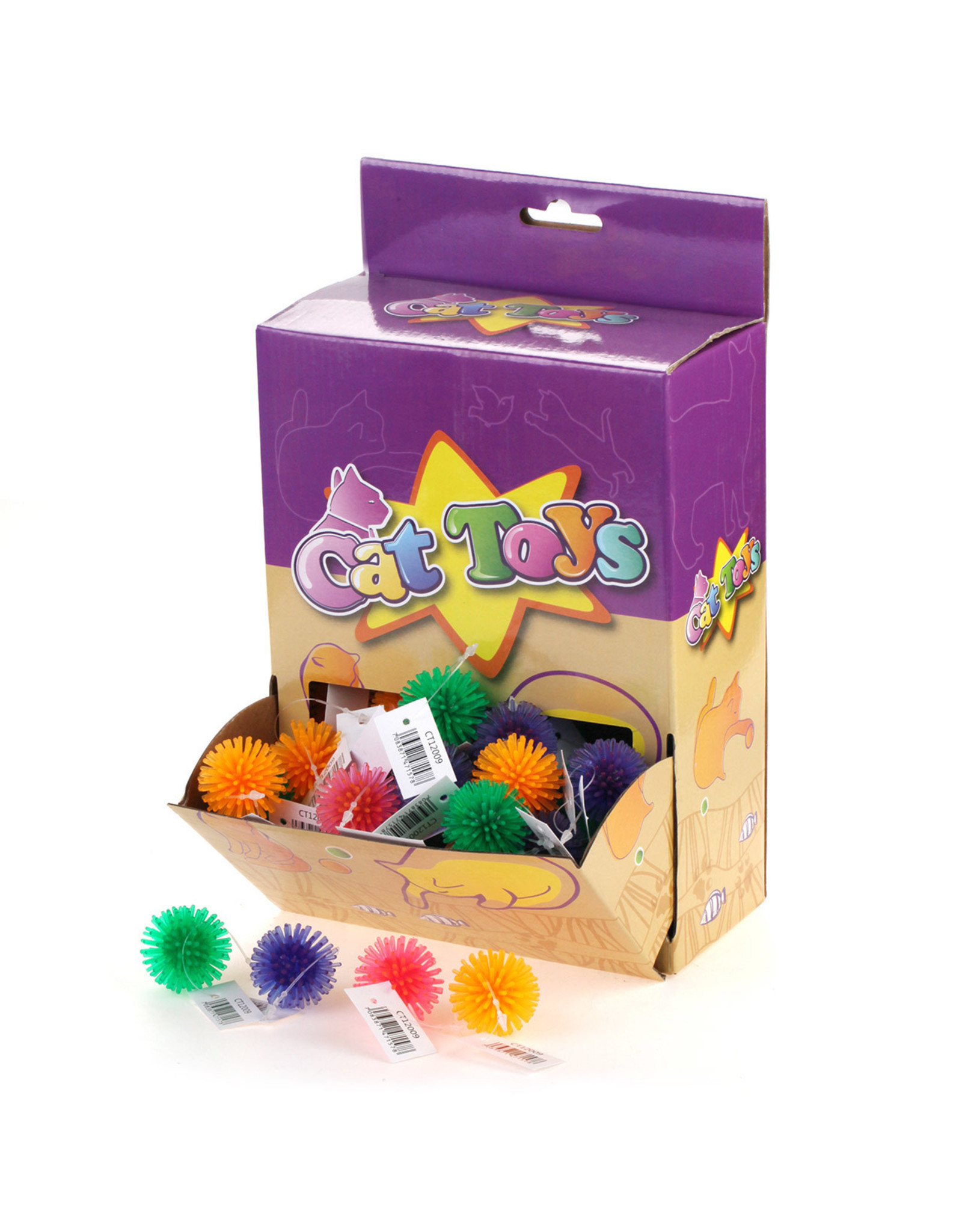 Cat Toys - Spikey Ball Small