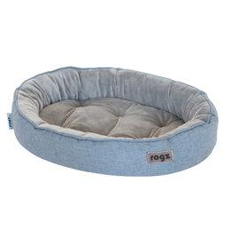 Rogz Cuddle Oval Podz - Grey