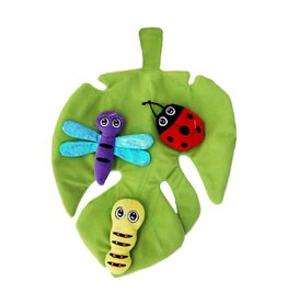 Kong KONG - Pull-a-Partz Bugz w/ Leaf