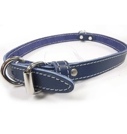 Lacets Arizona Lacets Arizona - Leather Collar Blue 3/4x22in