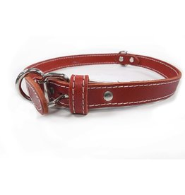 """Lacets Arizona Lacets Arizona - Leather Collar Red 3/4x24in"""""""