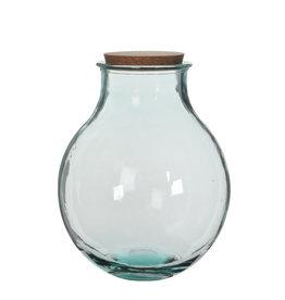 Olly Vase Transparent