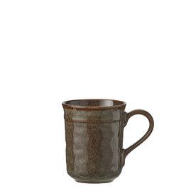 Noah cup brown - h10.5xd8.5cm
