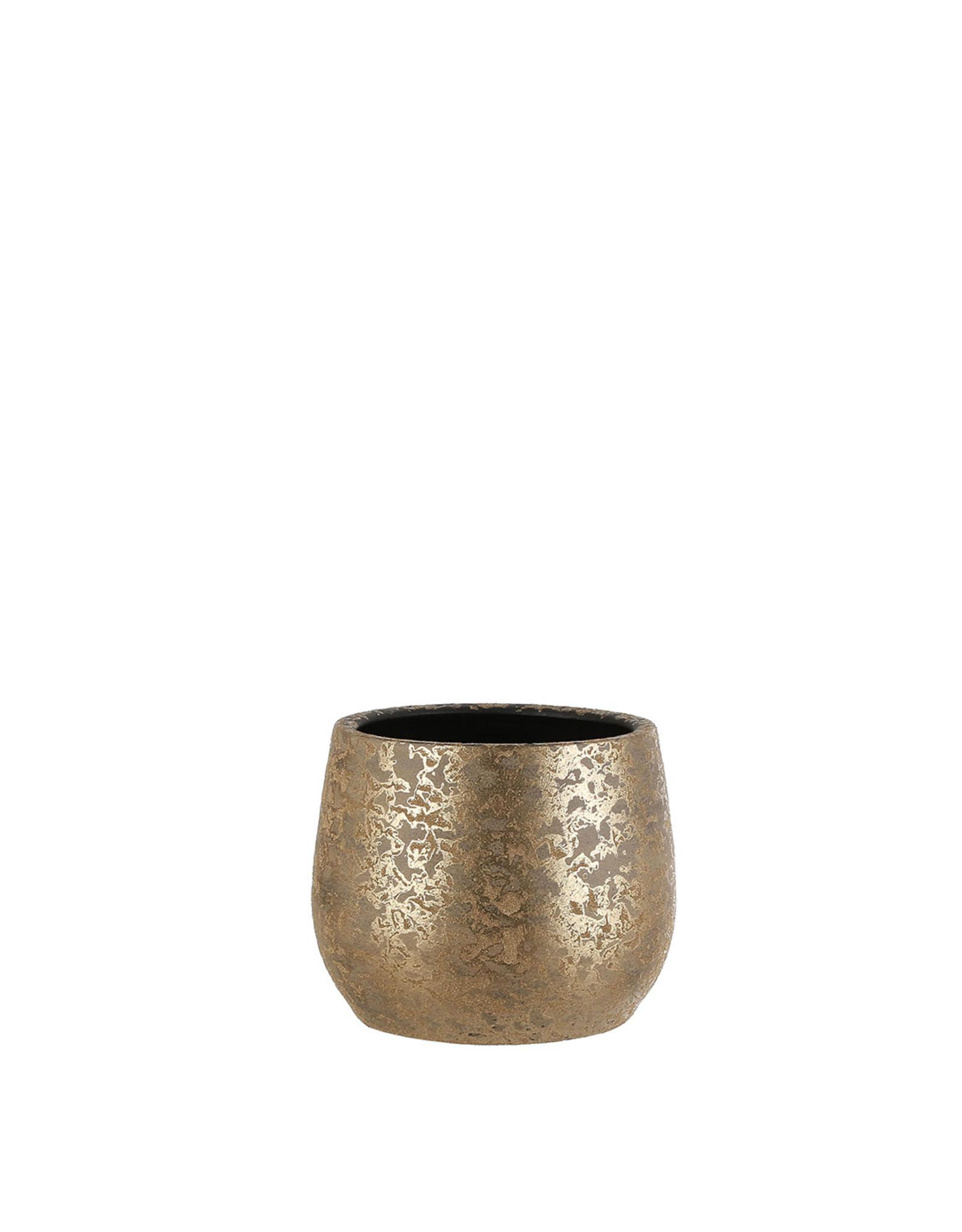 Clemente Pot - Round Gold