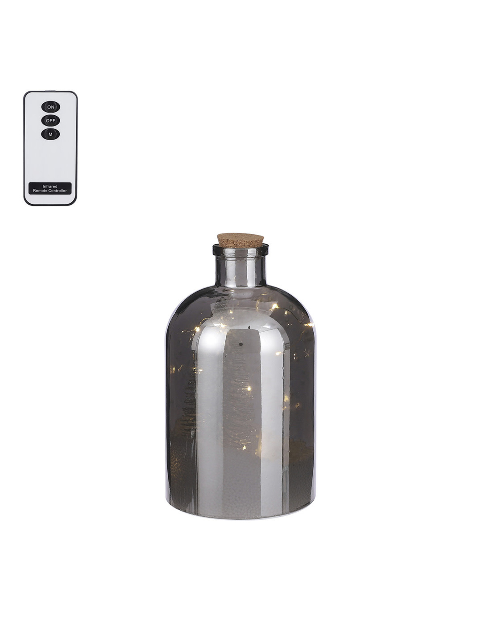 Bottle 10 led BO with 2 function remote