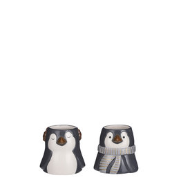 Pot Penguin Grey