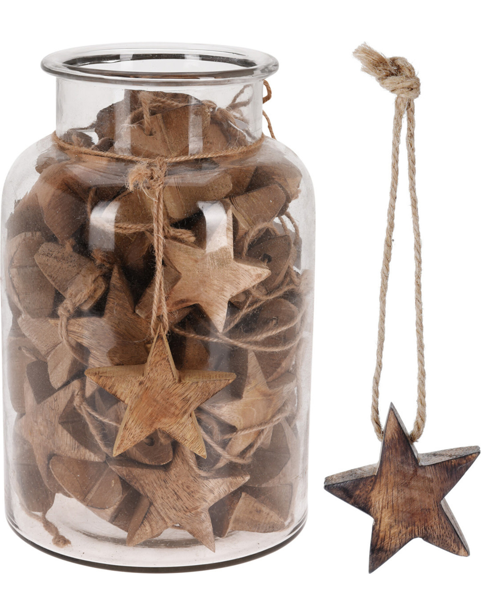 Koopman Hang Deco Star 6cm