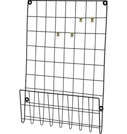 Koopman Wall Rack 40X60cm Metal