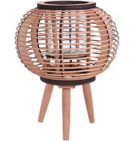 Koopman Lantern Bamboo Brown