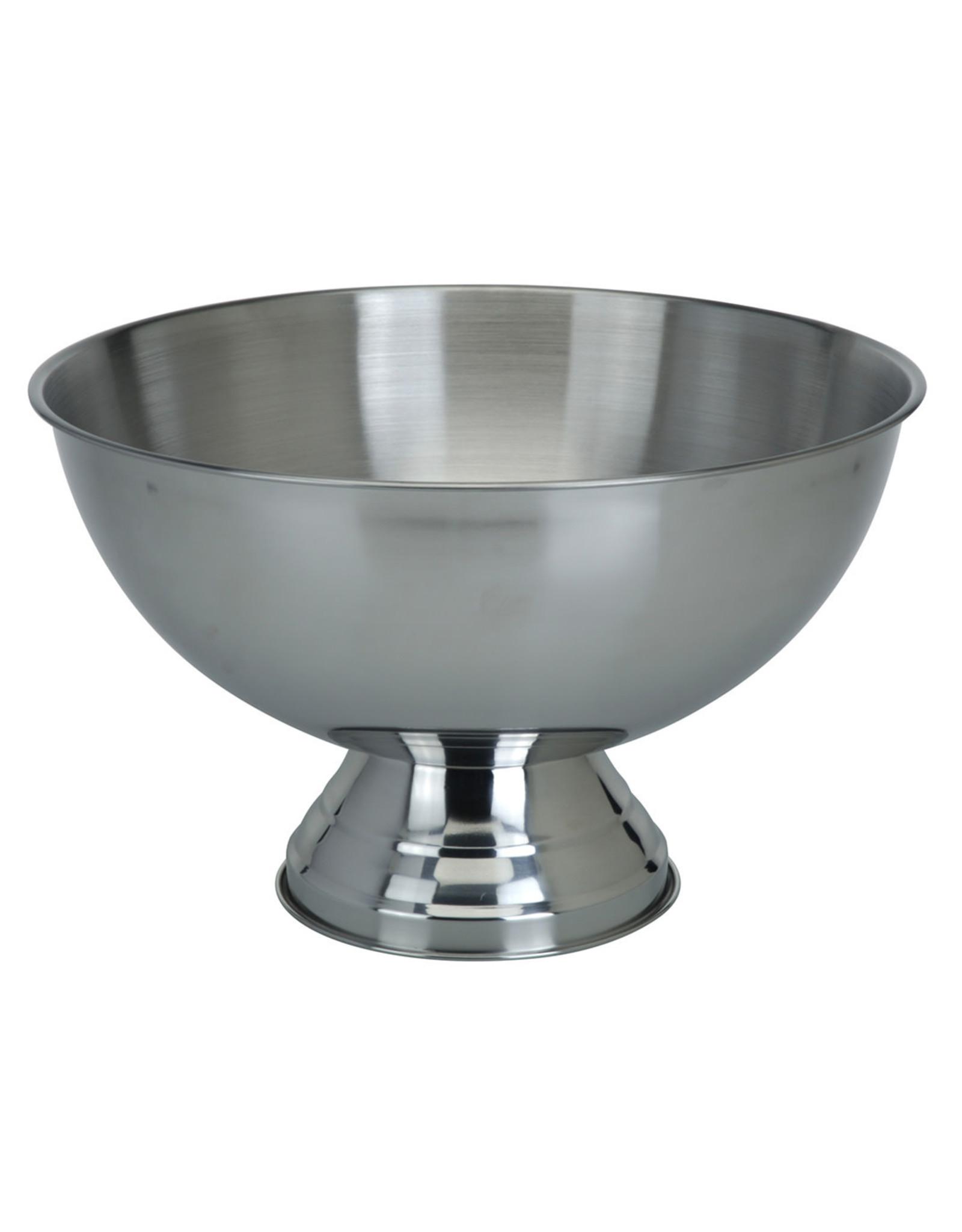 Koopman Bowl On Foot Stainless Steel