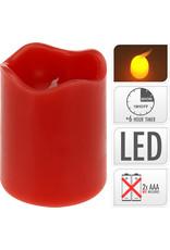 Koopman Candle Led Timer 70X90mm Red