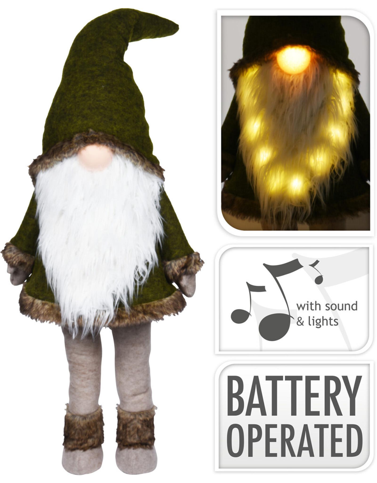 Koopman Gnome With Beard And Led
