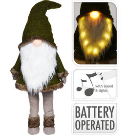 Koopman Gnome With Beard And Led