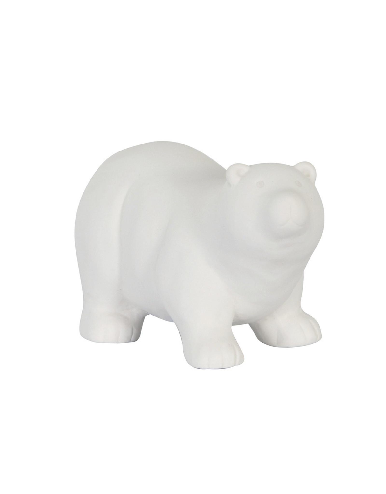 Dijk Bear porcelain white