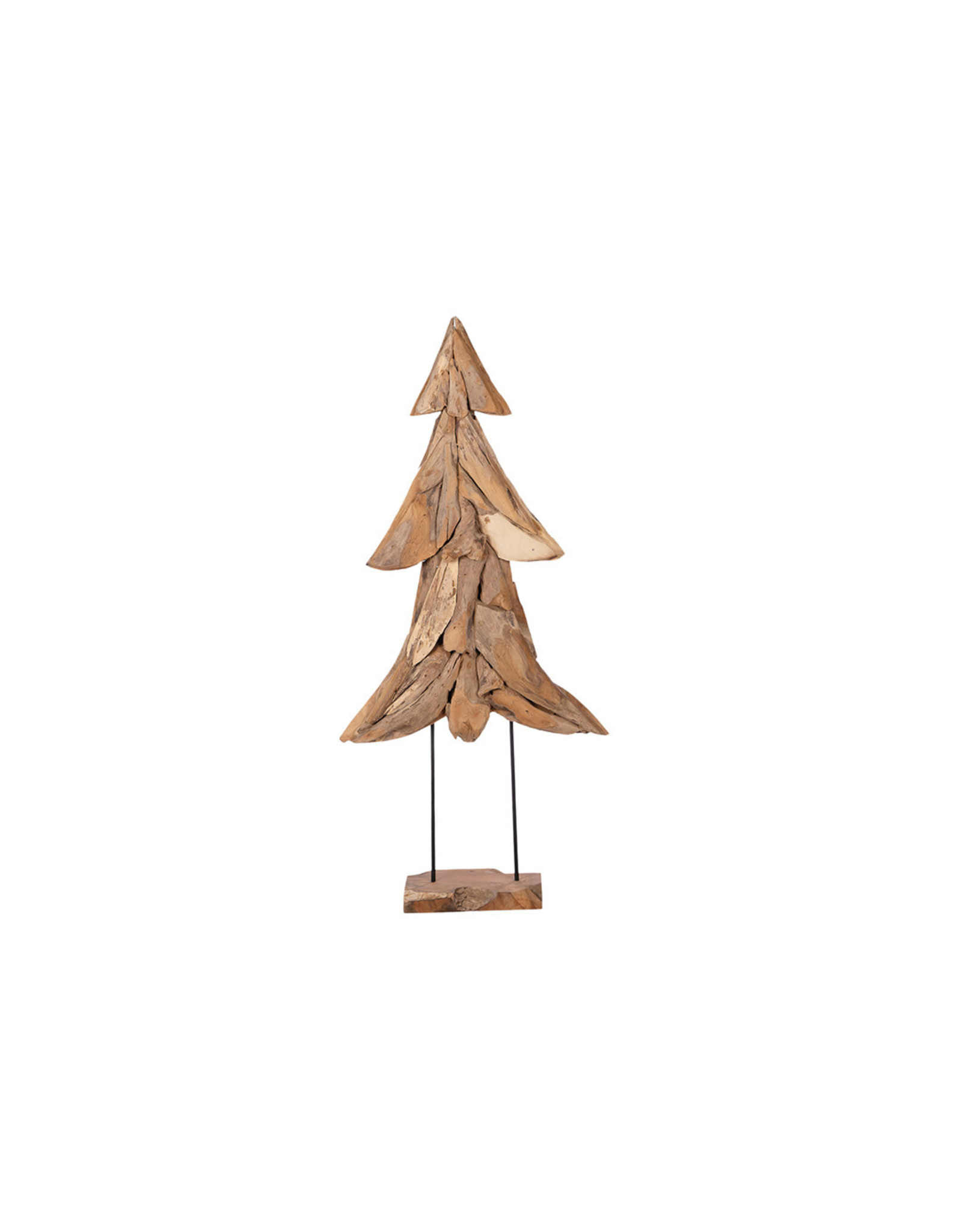 Dijk Christmas tree on stand XL teak 73x22x150cm