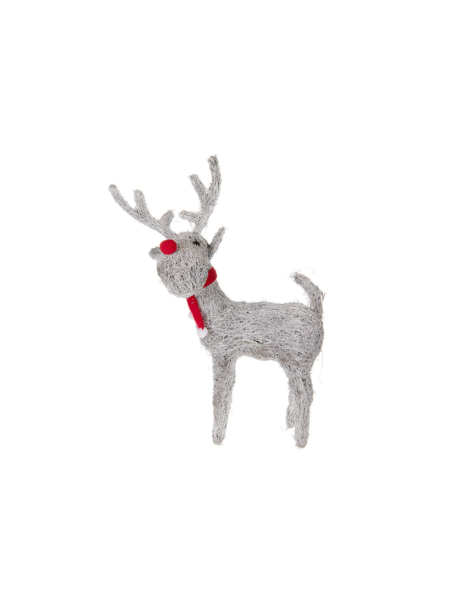 Dijk Deer white-wash 50x15x79cm