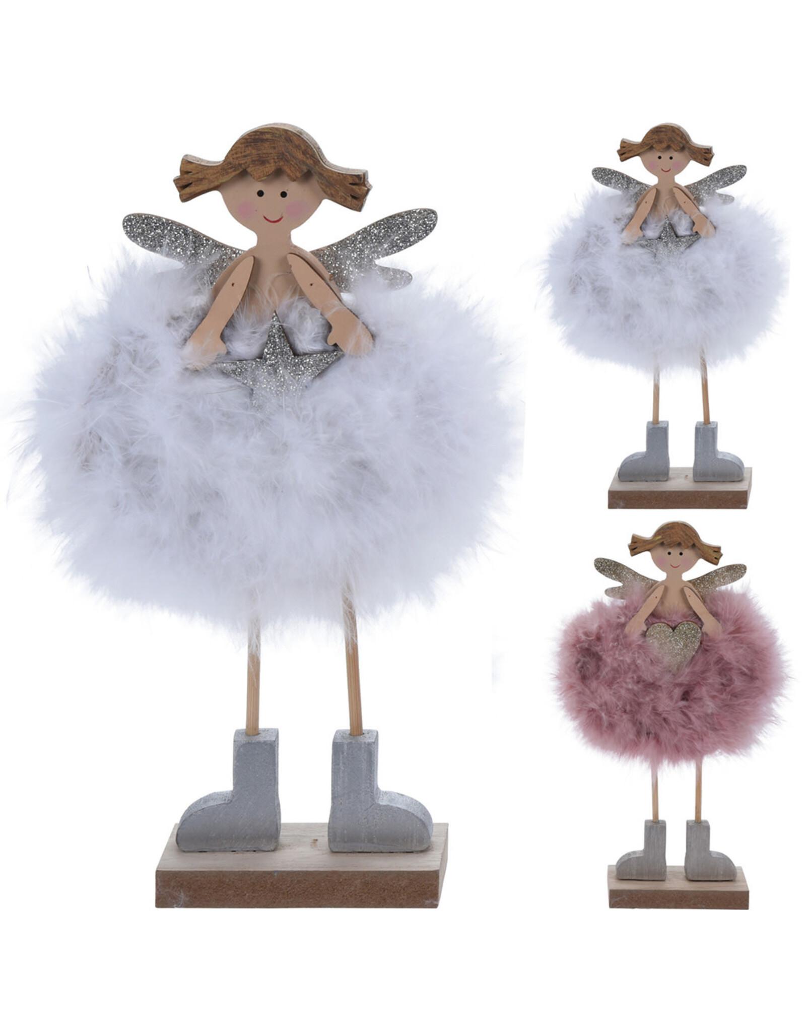 Koopman Angel With Fur 24cm