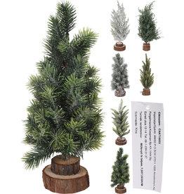Koopman Xmas Tree 30cm On Wooden Base