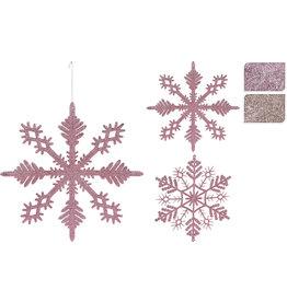 Koopman Hang Deco Snowflake