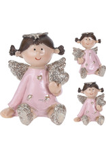 Koopman Angel Sitting Glitter