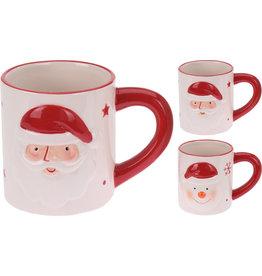 Koopman Mug With Xmas Design 9cm