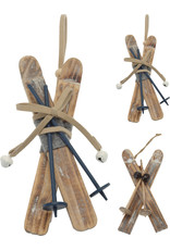 Koopman Hang Deco Wood Skis 16cm