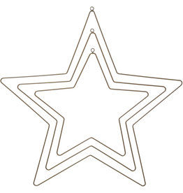 Koopman Star Metal Gold