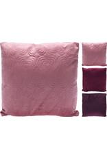 Koopman Cushion Velvet Heart 43X43cm