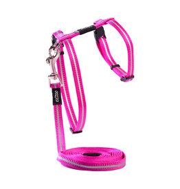 Rogz Rogz Alleycat Lead & Harness - Pink
