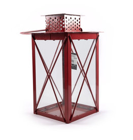 Lantern 4 assorted - l14.5xw14.5xh25cm