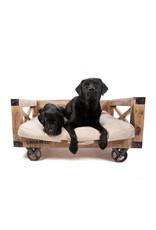 Lex & Max Divan wood on Wheels