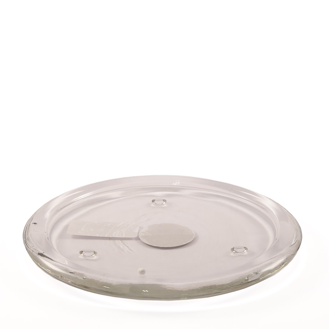 Candle Plate Transparent