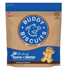 Buddy Biscuits Oven-Baked Crunchy Treats 3.5lb Bacon & Cheese