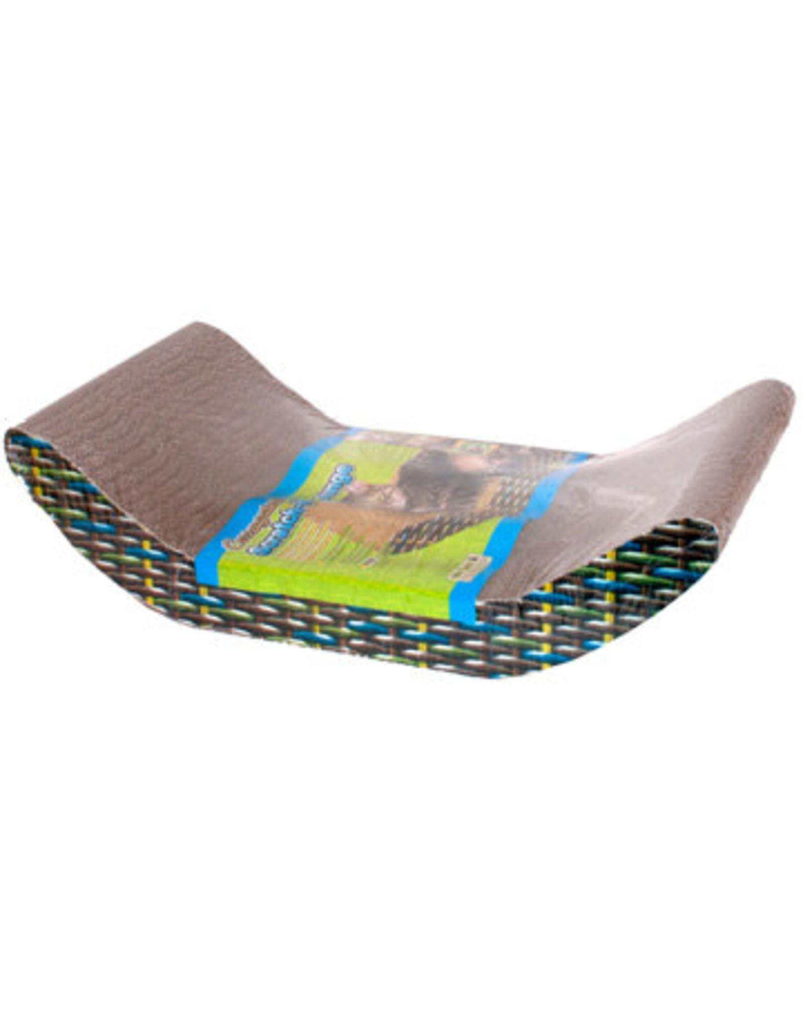 Cat Ware Corrugated Scratch & Lounge