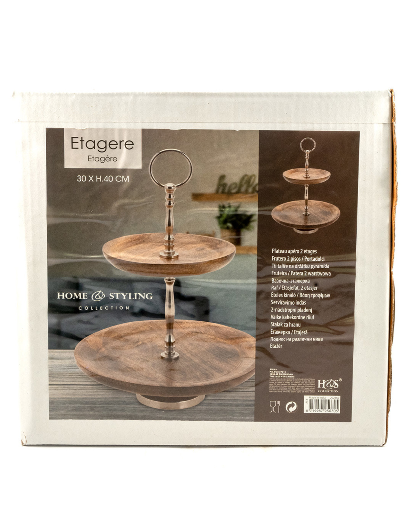 Cake Stand - Wood