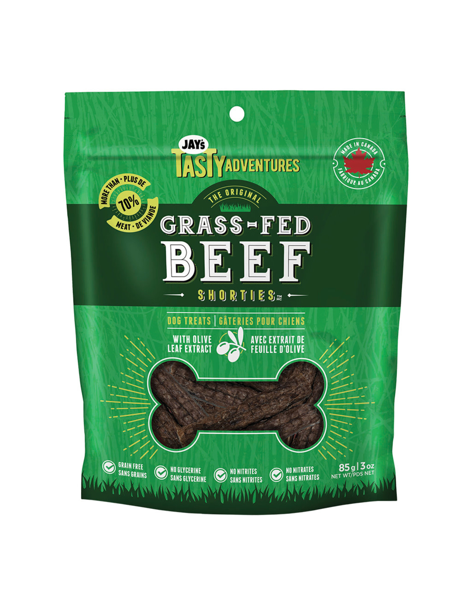 Jay's Grass Fed Beef Shorties