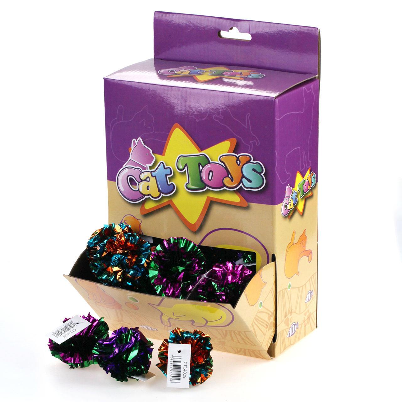 Cat Toys - Foil Crinkle Ball