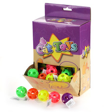 Cat Toys - Lattice Ball + Bell