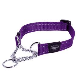Rogz Utility Classic Collar Side Release Purple Large 13-22''