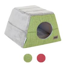 Rogz Cuddle Igloo Podz - Green