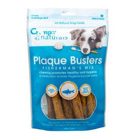"Honest Kitchen Crumps' Naturals Dog Plaque Busters Fisherman's Mix 7"" 8pk"