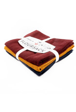 Amigos Floursack Towel - Set of 3