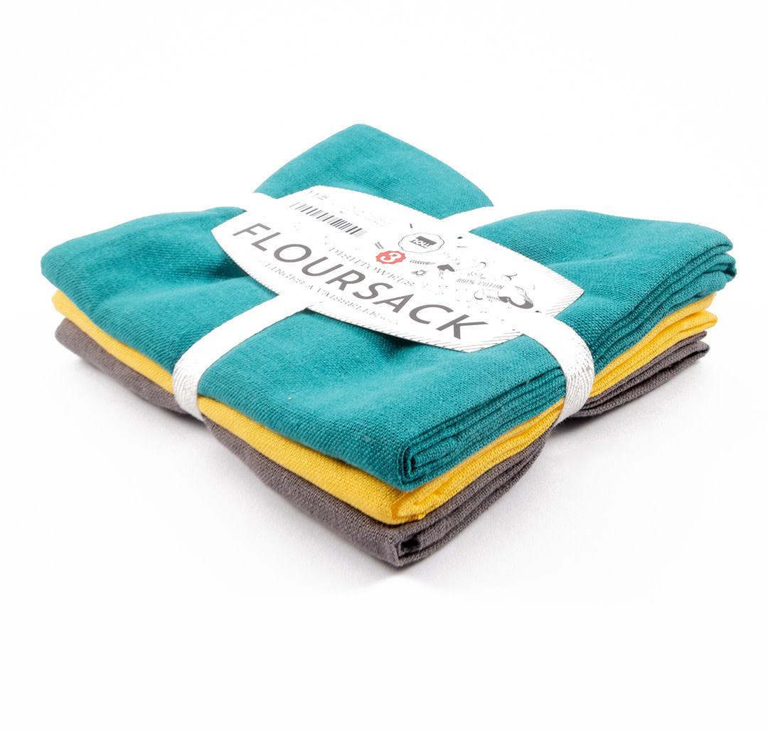 Danica - Floursack Dishcloths - Set of 3